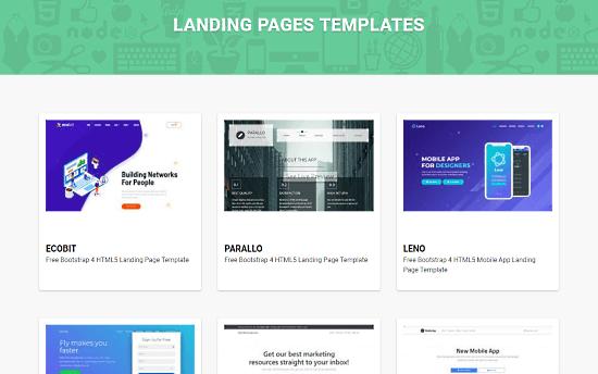 Theme Wagon Bootstrap templates