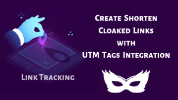 Free click Tracking Service with Link Cloaking, UTM Tags Integration