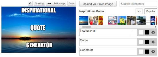 inspirational quote generator