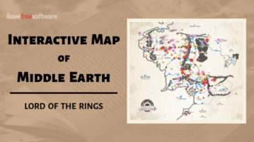 Interactive Map of Middle Earth to Explore Places from Lords of the Rings