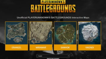 Free Interactive Map of PUBG with Loot Heatmap, Vehicle Location