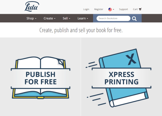 Online Platforms to Self Publish Your Book lulu