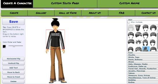 4 Online Anime Character Maker Websites Free