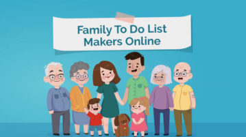online family to do list makers