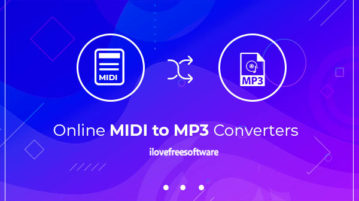 online midi to mp3 converters