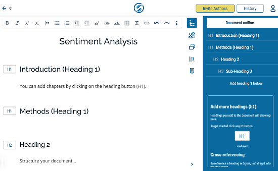 online scientific writing editor free