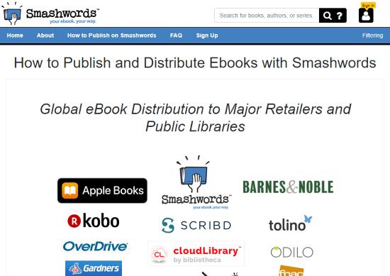 Online Platforms to Self Publish Your Book smashwords