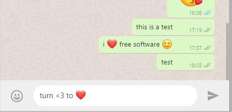 turn text emoticon to emoji