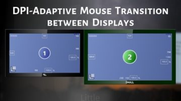 Use DPI-adaptive Mouse Transition between Displays on Windows 10