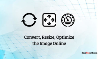 Free Website to Convert, Resize, Optimize Images