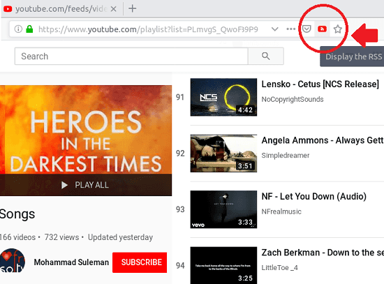 How to Get YouTube Playlist RSS Feed URL