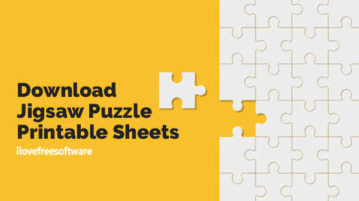 Download Jigsaw Puzzle Printable Sheets