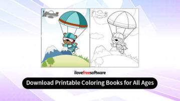Download Printable Coloring Books for All Ages