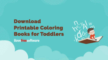 Download Printable Coloring Books for Toddlers