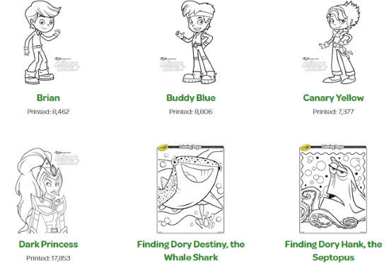 Download printable coloring pages for toddlers