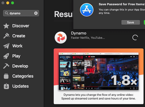Dynamo on Apple App Store
