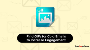 Find GIFs for cold emails to increase engagement