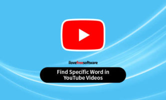 How to Find Specific Word in YouTube Videos?