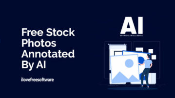 Free Stock Photos Annotated by AI