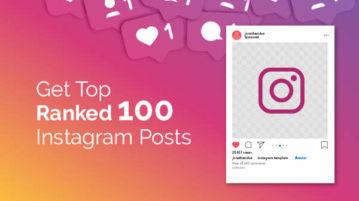 Get Top Ranked 100 Instagram Posts