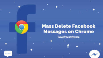 Mass Delete Facebook Messages on Chrome
