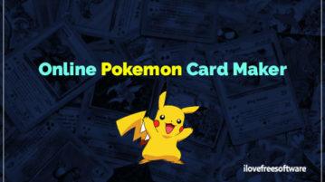 Online Pokemon Card Maker