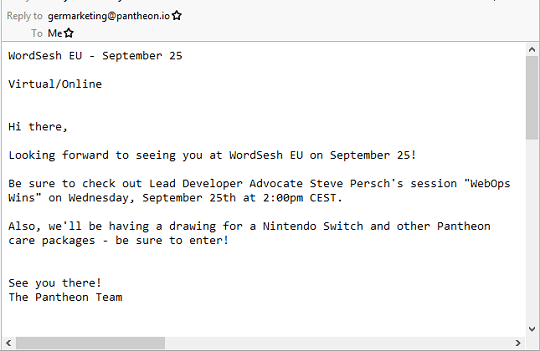 Plain Text Based Emails