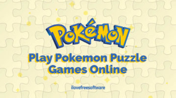 Play Pokemon Puzzle Games Online