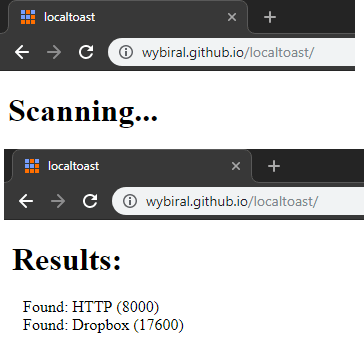 See List of Services Running in Localhost by just opening this URL