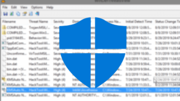 Threats Detected by Windows Defender with free tool by Nirsoft