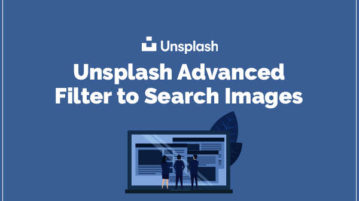Unsplash Advanced Filter to Search Images