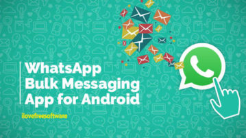 WhatsApp Bulk Messaging App for Android