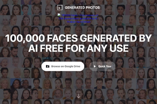 ai-generated faces for royalty-free use