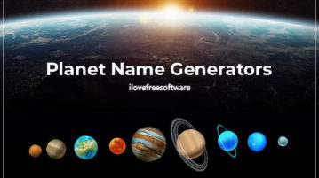 best planet name generator websites