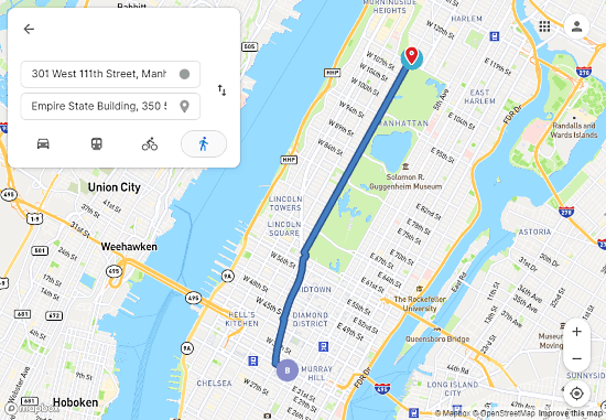 blockchain-based alternative to google maps