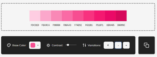 change contrast and copy paste to Figma