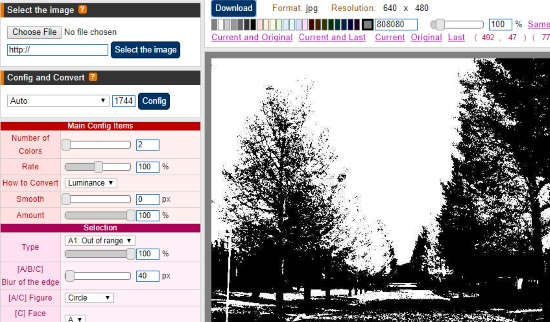 create silhouette images online