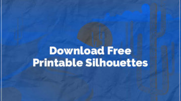 download free printable silhouettes