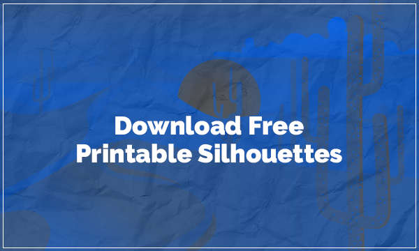 graphic about Free Printable Silhouettes identify Down load Absolutely free Printable Silhouettes In opposition to Those Cost-free Internet sites