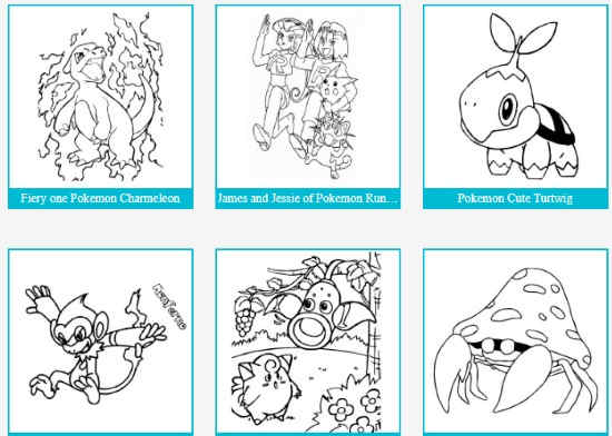 download pokemon coloring pages