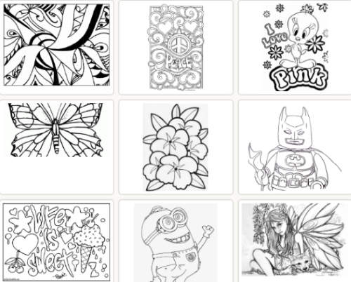 Download Printable Coloring Pages For Teenagers With 10 Free Websites