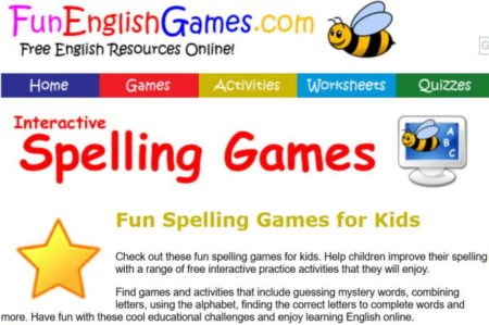 graphic about Printable Spelling Games named 9 Absolutely free On-line Spelling Video games for Children