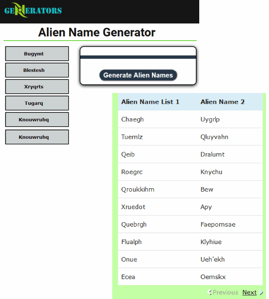 ngenerators.com website