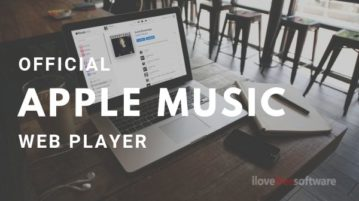 Listen Apple Music Online with Official Apple Music Web Player