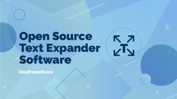 open source text expander software
