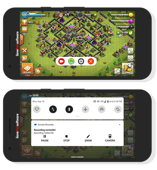 record game audio with gameplay in Android