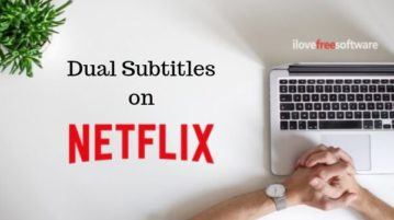 How to Display Subtitles in 2 languages on Netflix?
