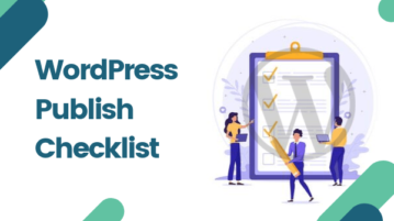 WordPress Publish Checklist Plugin
