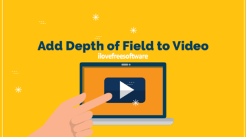 Add Depth of Field to Video