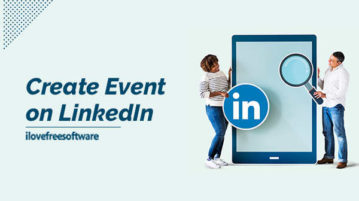 Create Event on LinkedIn